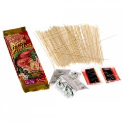 Noodles of instant cooking mee prawn