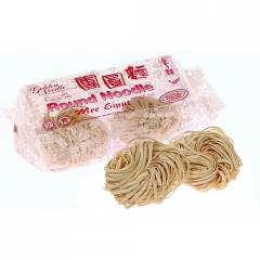 Noodles of instant cooking mee snail