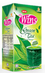 Tea green packed