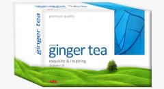 Tea drink ginger