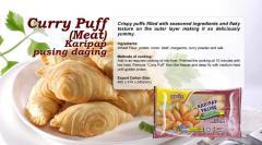 Curry Puff (Meat)  Karipap Pusing Daging