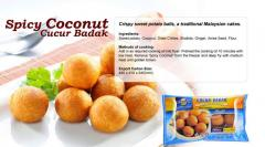 Spicy Coconut  Cucur Badak