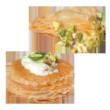 Baklawa - Creamy Warbat