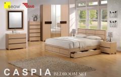 Set of bedroom furniture caspia