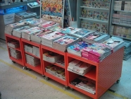 Shelvings, sectional, book for book store