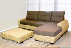 Home furniture Cadendi Wicker Corner Sofas set