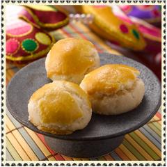 Cookies golden almond