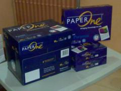 Paper One Copier Paper A4 80gsm,75gsm,70gsm