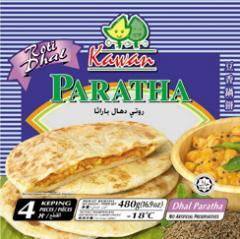 Stuffed Paratha Dhall