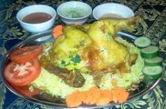 Mandy (Arab Rice) Chicken