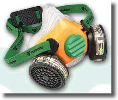 Respiratory Protection - Half Face Mask with Twin Filter