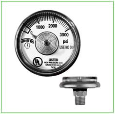 Spiral Tube Pressure gauge