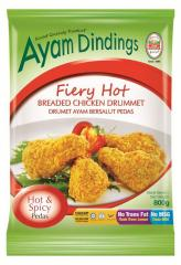 Ayam Dindings Fiery Hot Breaded Chicken Drummet