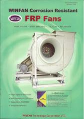 Chemical Corrosion Resistant FRP Fans (AMCA Certified)