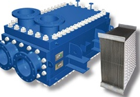 Heat exchanger without gaskets, and perfect for high pressure applications