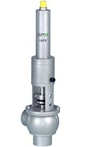 DELTA UF pressure relief valves to protect installations against excess pressure