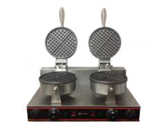 Commercial Double Waffle Baker