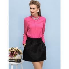 Short Skirt-Alhena Flora Printed Skirt