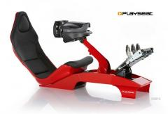 Playseat Red F1 + Ferrari F1 Wheel Integral T500