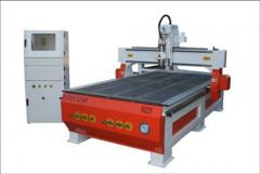 M25 CNC wood router with vacuum table