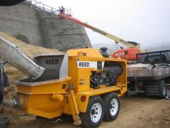 REED Shotcrete Pump