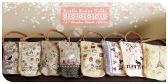 T&T Japanese Handmade Canvas Hand pouchette