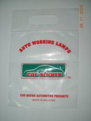 Zip Lock Bag with Carry Hole