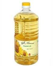 Refind peanut oil