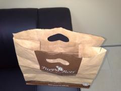 Greaseproof bakery paper bag
