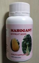 Mahogany Seeds in capsule form