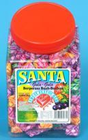 Santa Fruit Flavour Chew