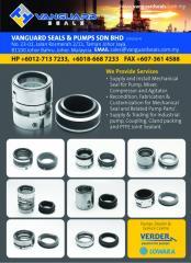 Mechanical seal, Pump Service and repair.