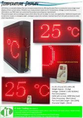 LED Temperature Display Panel