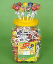 130 pieces Dino Assorted Fruit Hit Pop