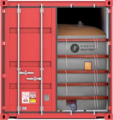 Flexitank, bulk liquid transport