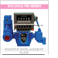 TCS Piston & Rotary Positive Displacement Flow Meter