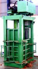 Coconut Fibre Baling Press
