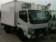1 Ton Mitsubishi Fuso FE71PB Freezer Air-Cond Lorry