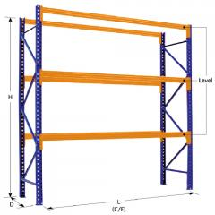 Selective Pallet Racking Storage System