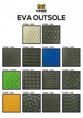 EVA foam in sheet form