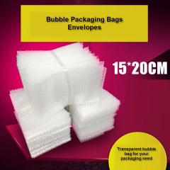 Cushioning Bubble Bag Bubble Film Wrap Packages Bag Packaging (15 x 20cm)