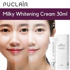PUCLAIR Milky Whitening Tone-Up Cream 30ml - Real Brightening!
