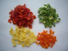 Dehydrated/dried mixed vegetables  Flakes, Granualar, whole