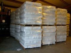 EPS block white scraps