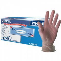 Power free PVC gloves disposable vinyl gloves