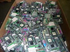 Computer motherboard scrap