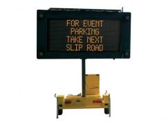 Portable Variable Message Sign (PVMS)