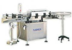 Automatic linear labelling machines