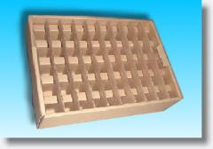 Die Cut Tray With Partition