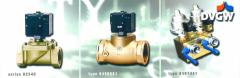 Media valves